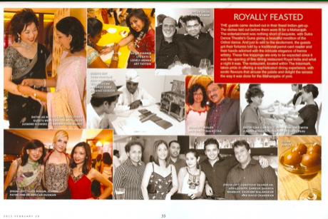 American Express Platinum Exclusive Event at The Royal India